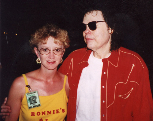 Kathy with Ronnie in Tulsa