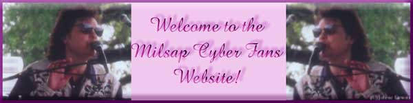 Graphic - Welcome to the Milsap Cyber Fans Website!